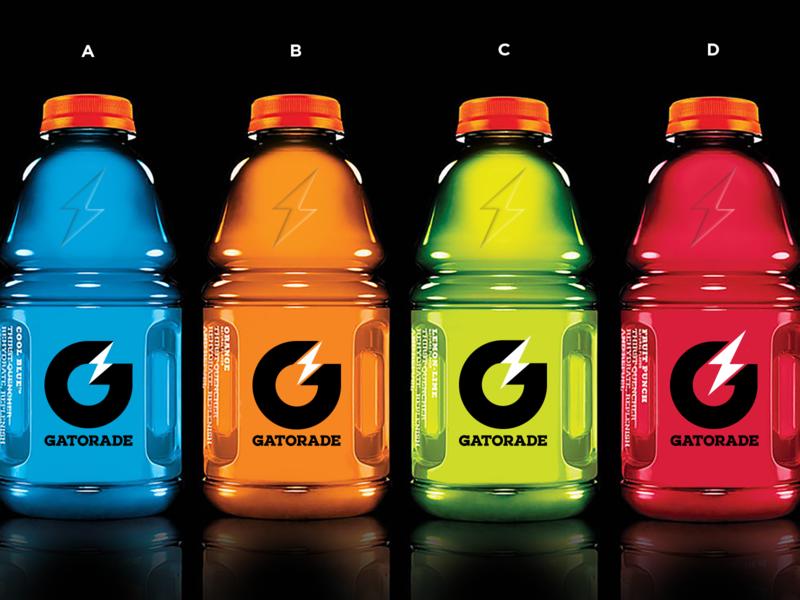 Gatorade Rebrand / Icon Options power energy sports gatorade icon brand branding packaging logo