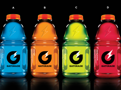 Gatorade Rebrand / Icon Options power energy sports gatorade icon brand branding packaging logo