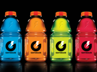 Gatorade icon packaging dribbble