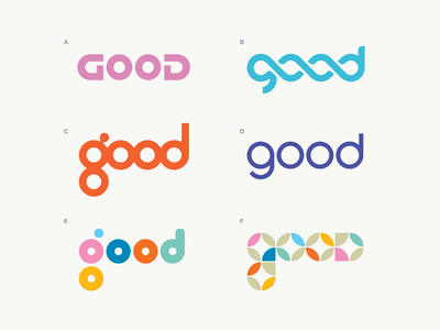 Good custom typography type good