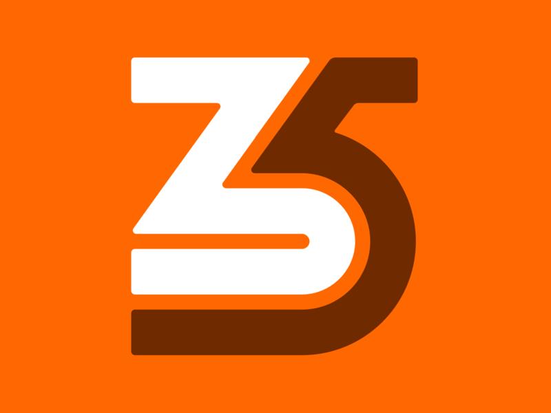 35 instagram identity brand 35 numerals branding logos logo