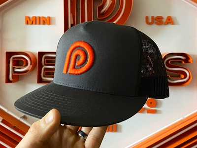 Peters Design Company Hat and Branding