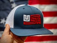 U.S. Made: USA Flag Trucker Cap