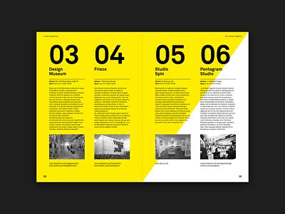 Be. Desair Magazine yellow typography type magazine design magazine grid layout grid graphic design graphic editorial layout editorial design editorial design