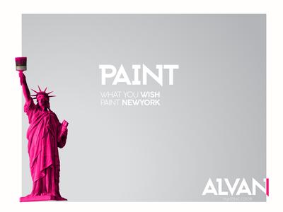 Alvan Poster