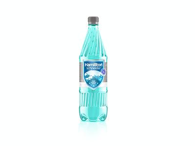 Hamilton Tonic Water mockup 3dmodeling bottle design bottle label water bottle brand iran branding print persian drawing design vector illustration product design logo label label design packaging package design