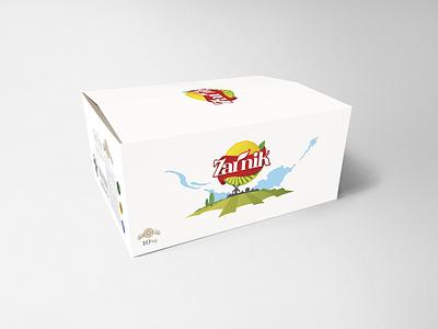 Carton Box & Packaging Design zarniksaffron zarnik box design foodpackage farsi brand iran logo branding persian drawing illustration packagedesign labledesign label packaging package box carton