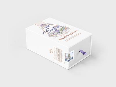 Zarnik Saffron Hard Box Design saffron persian farsi box design zarnik iran branding design drawing vector illustration brand identity brand product design logo design logodesign packagedesign packaging package box