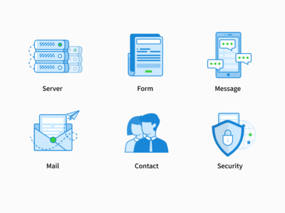 MikeCRM server Icons