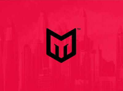 M x Helmet Logo logotype logo mark dailylogochallenge logo design photoshop illustrator artistic ai logo art