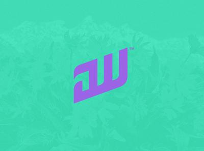 JW Monogram. monogram dailylogochallenge logotype logo mark logo design photoshop illustrator artistic ai logo art