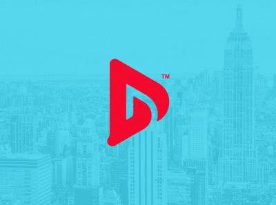 D Logo Mark dailylogochallenge illustration logotype logo mark logo design photoshop illustrator artistic ai logo art