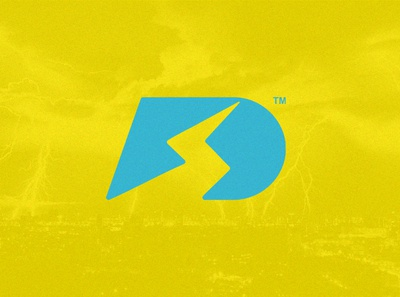 D + Bolt Logo Mark. dailylogochallenge illustration logotype logo mark logo design photoshop illustrator artistic ai logo art