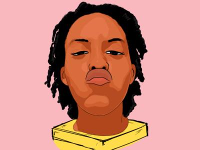 """""""Yimu"""" cartoonhead illustration digital art illustrator"""