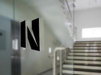 Naavi Logo Signage