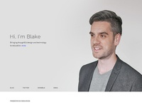Personal Website Design - Seufert.co
