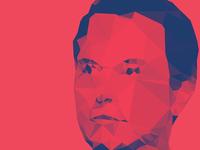 Elon Musk Poster + Vector