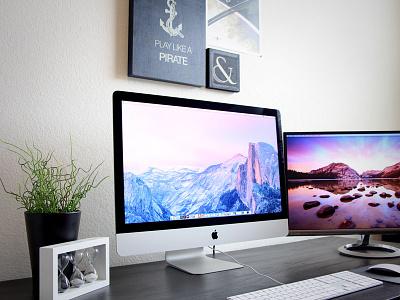 Workspace | 27-inch iMac 5k Retina imac 5k workspace