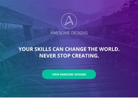 Responsive email template design 2x