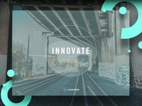 Innovate Website Hero