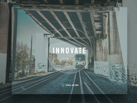 Innovate Website Hero Animation