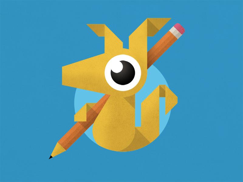 Aardvark illustration aardvark pencil