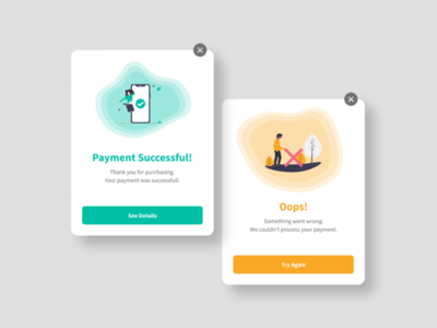 Payment Success Flash Messages