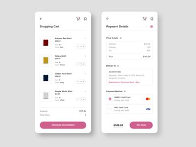 Clothes Shopping App