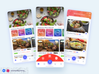 Food Delivery Noodle Concept typography figmadesign figma uiuxdesign uiux mobile ux illustration photoshop simplify