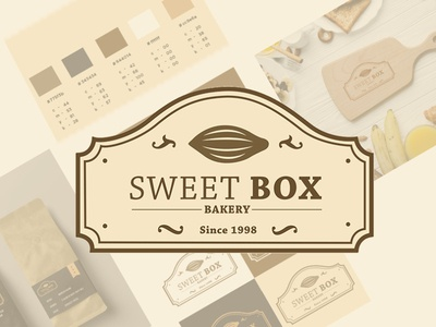 Sweet Box Logo app logodesign vector art logo branding typography designer design