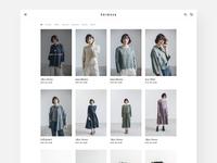 Catalog - Minimalism Fashion E-commerce