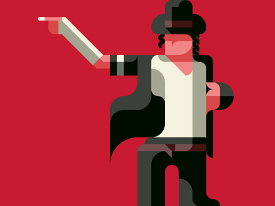 Michael Jackson, King of Pop( a part ) -with a Drawing app- michael jackson king of pop michael flatdesign flat