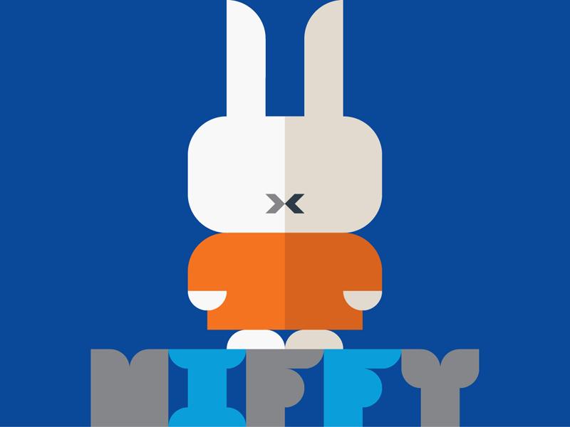 Bye Bye Miffy! Bye Bye Dick Bruna! nijntje utrecht netherlands holland picturebook ミッフィー geometry bruna miffy