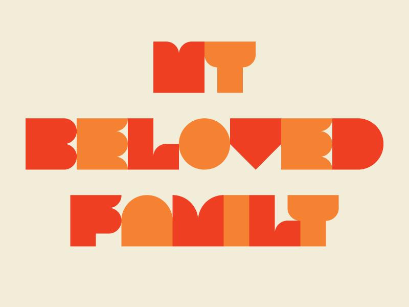MY BELOVED FAMILY 1 flat iconic minimalism nemury simple flatdesign minimal illustration patchworkapp geometry