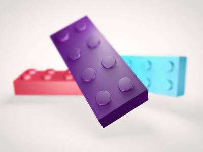 Flying Lego *highlighted*