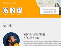 Meetup web layout draft (#dec0de)