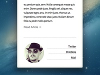 _simple footer