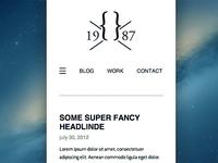 _simple header