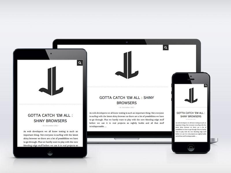 responsive responsive web design blog minimal