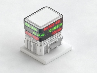 Illustration of the ASX building for Digital Asset WIP