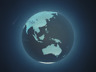 Earth / 1933 Industries animation aftereffects toon cell animation cellanimation cell shading maps globe earth marihuana cannabis c4d cinema4d motion motiongraphics 3d