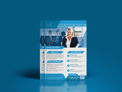 Professional Business Flyer Deaign postcard graphic design graphics graphic flyer designer flyer designs flyers flyer template flyer design flyer vector branding ux ui design