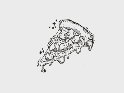 Pizza Hut illustration set pizza hut pizza packaging typography design illustration branding
