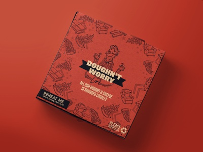 Pizza Hut illustration set pizza typography character design pizza hut packaging design illustration branding