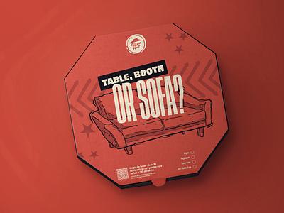 Pizza Hut illustration set pizza pizza hut packaging typography design illustration branding