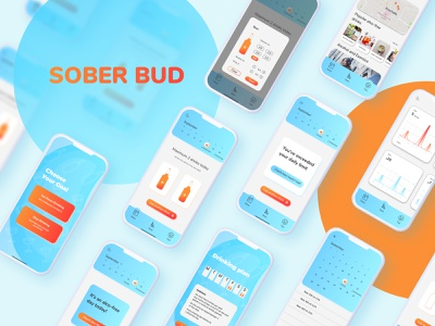 Sober Bud: UX/UI Case Study interviews research ux design ui design