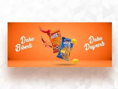 Ad web banner web design banner orange graphic design