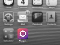Randm. iOS icon