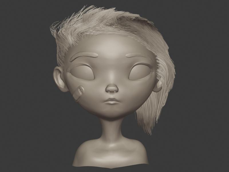 Mai Su - Next Gen Movie nextgen illustration b3d 3d render blender