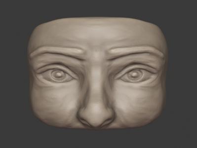 Sculpt Face - Week 002